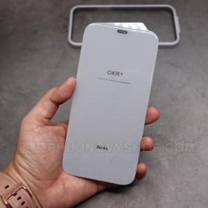 "Dán cường lực iPhone 12 Pro 6.1"" - Benks FULL CLEAR trong suốt"